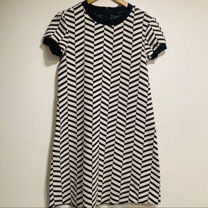Zara's woman geometric dress